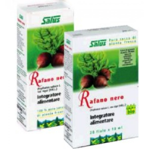 Salus Rafano Nero Succo Soluzione Alcolica 200 ml - Integratore Alimentare