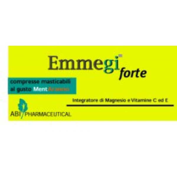 EMMEGI FORTE 20CPR MASTIC