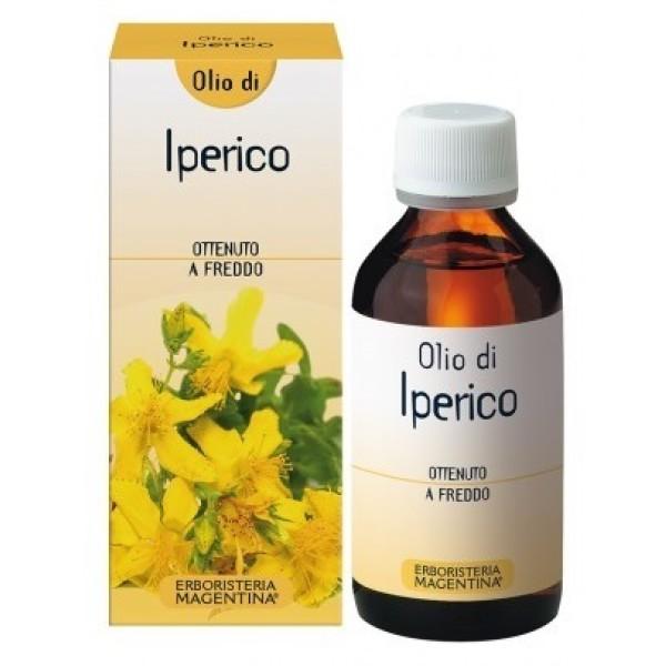 Erboristeria Magentina Iperico Olio Emolliente Ristrutturante Pelli Squamose 100 ml