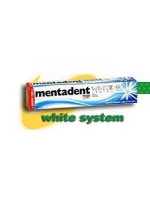Mentadent Dentifricio White System 75 ml