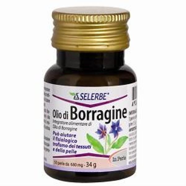 Selerbe Olio Borragine 50 Perle - Integratore Fisiologico