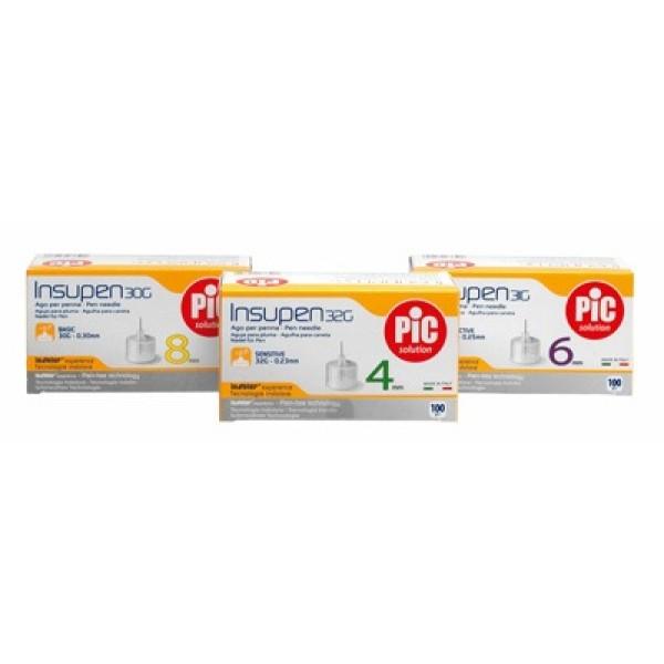 Pic Ago 31G Insupen per Insulina 5 mm 100 pezzi