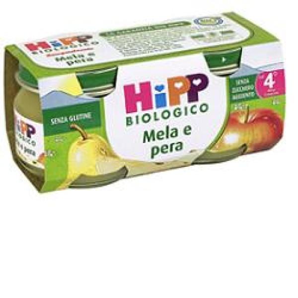 Hipp Bio Omogeneizzato Mela e Pera 2 x 80 grammi