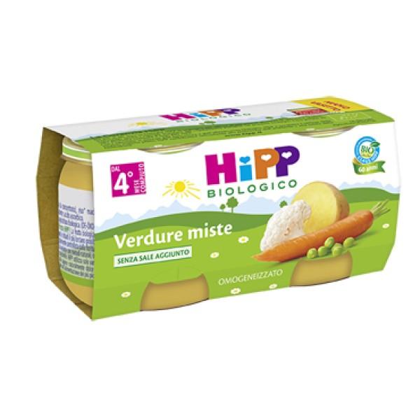 Hipp Bio Omogeneizzato Verdure Miste 2 x 80 grammi