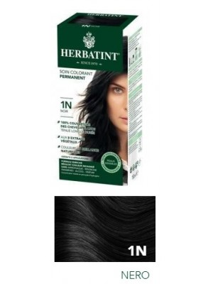 Herbatint Tintura per Capelli Gel Permanente 1N Nero 150 ml