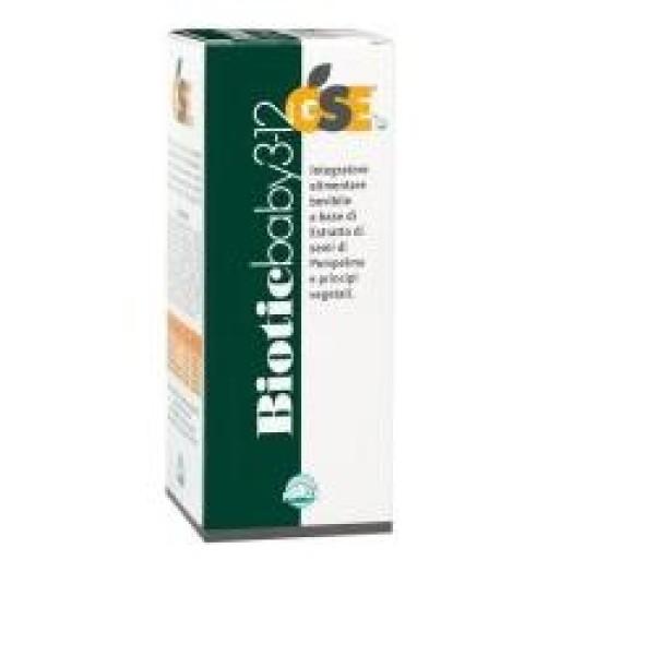 Gse Biotic Baby 3-12 Anni 200 ml- Integratore Difese Immunitarie