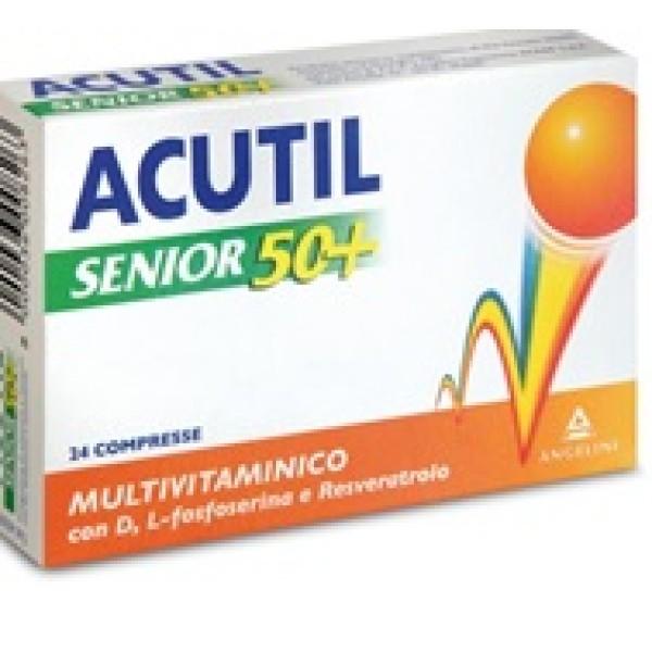 Acutil Senior 50+ Integratore Multivitaminico 24 Compresse