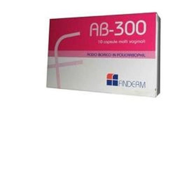 AB 300 Ovuli Vaginali 10 Capsule Molli
