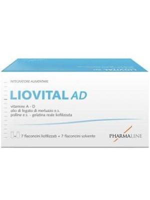 Liovital Adulti 7 Flaconcini Liofilizzato + 7 Flaconcini Solvente - Integratore Alimentare