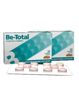 Be-Total Integratore di Vitamine B 20 Compresse