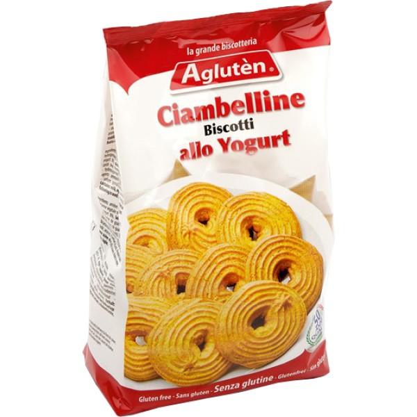 Agluten Biscotti Senza Glutine Ciambelline allo Yogurt 200 grammi