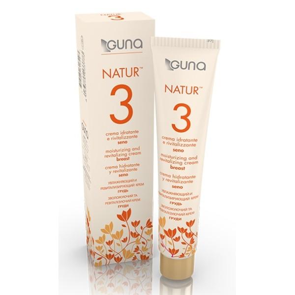 Guna Natur 3 Crema Idratante e Rivitalizzante Seno 75 ml