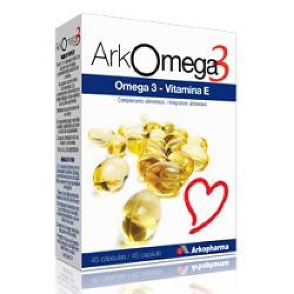 Arkomega 3  45 Capsule - Integratore Colesterolo