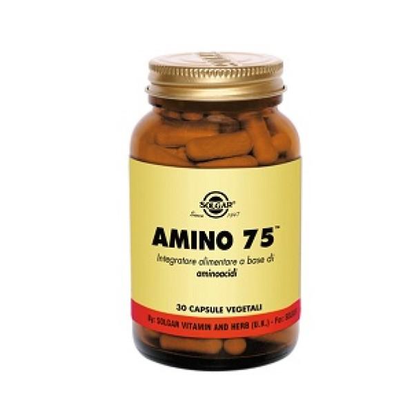 Solgar Amino 75  30 Capsule - Integratore Aminoacidi Essenziali