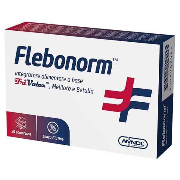 Flebonorm 30 Compresse - Integratore Microcircolo a Base di Diosmina