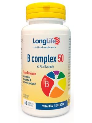 Longlife B Complex 50 T/R 60 Tavolette - Integratore Vitaminico