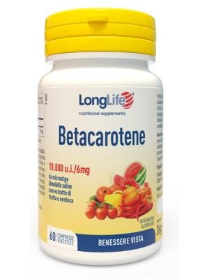 Longlife Betacarotene 60 Compresse - Integratore Abbronzatura