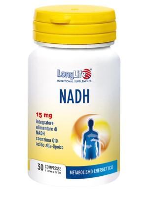 Longlife Nadh C/Q 10 30 Compresse - Integratore Metabolismo Energetico