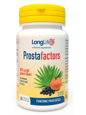 Longlife Prostafactors 60 Capsule - Integratore Sistema Urinario Uomo