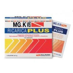 MG K Vis Ricarica Plus Integratore Alimentare Stanchezza 14 Buste