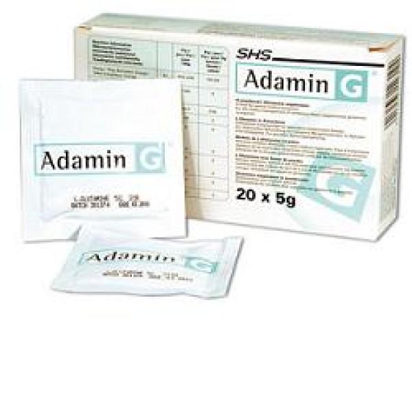 Adamin G 20 Bustine - Integratore Alimentare L-Glutammina