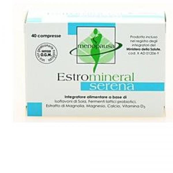 Estromineral Serena 40 Compresse - Integratore Menopausa e Ciclo Mestruale