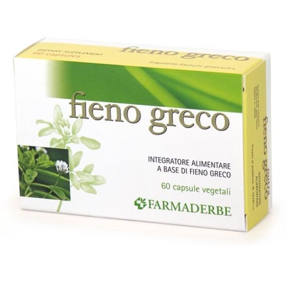 Farmaderbe Fieno Greco 60 Capsule - Integratore Alimentare