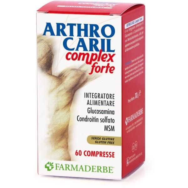 Farmaderbe Arthrocaril Complex Forte 60 Compresse - Integratore Alimentare