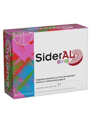 Sideral Bimbi Integratore con Ferro Sucrosomiale e Vitamina C 20 Bustine