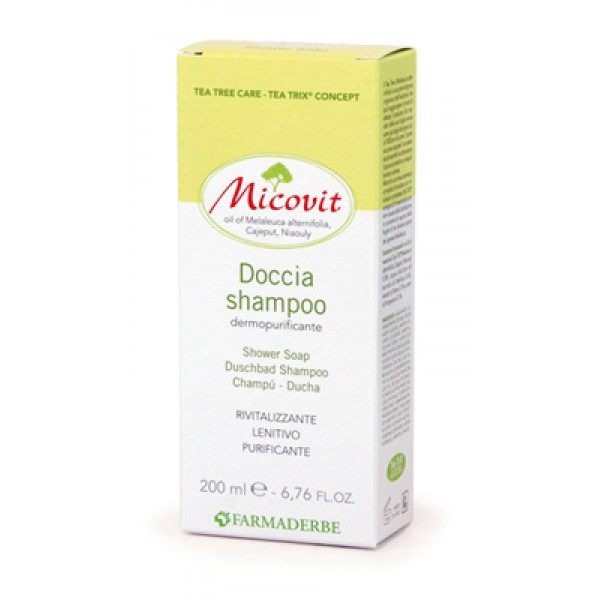 Farmaderbe Micovit Doccia Shampoo 200 ml