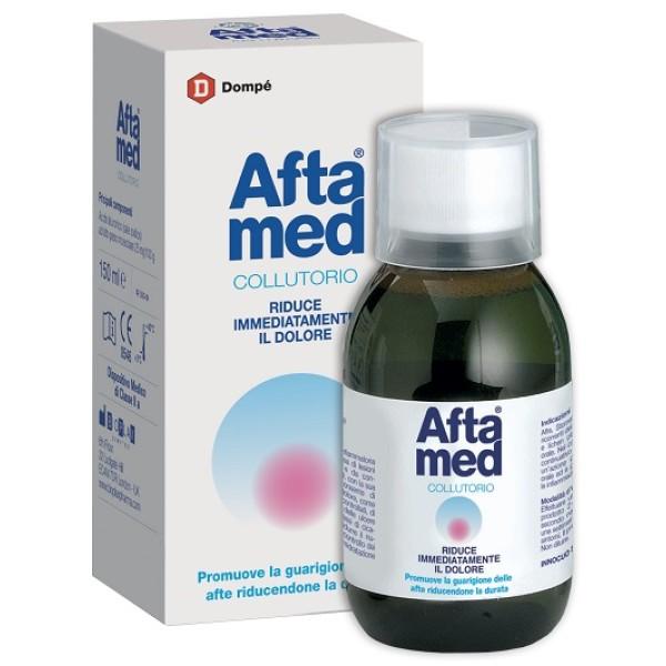 Aftamed Collutorio Anti-Afte e Stomatiti 150 ml