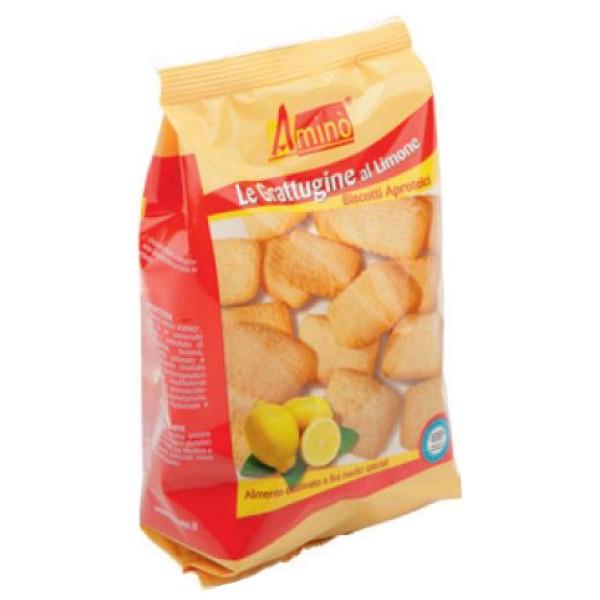 Amino' Le Grattugine al Limone Biscotti Aproteici 200 grammi