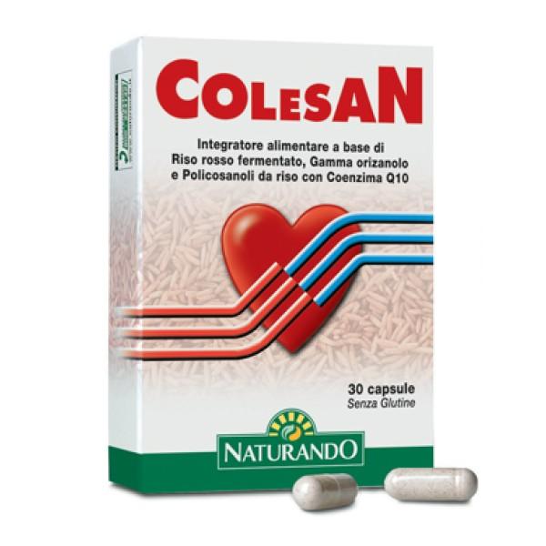 Colesan 30 Capsule - Integratore Alimentare