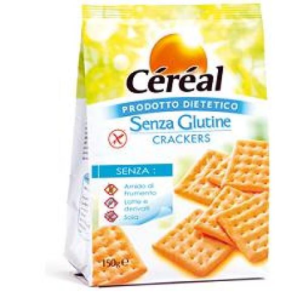 Cereal Crackers con Rosmarino Senza Glutine 150 grammi