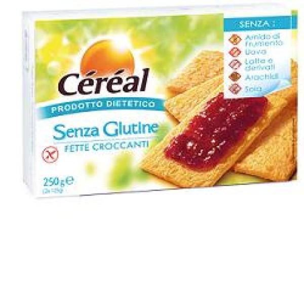 Cereal Fette Croccanti Senza Glutine 250 grammi