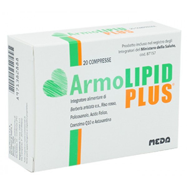 Armolipid Plus Integratore per Colesterolo 20 Compresse