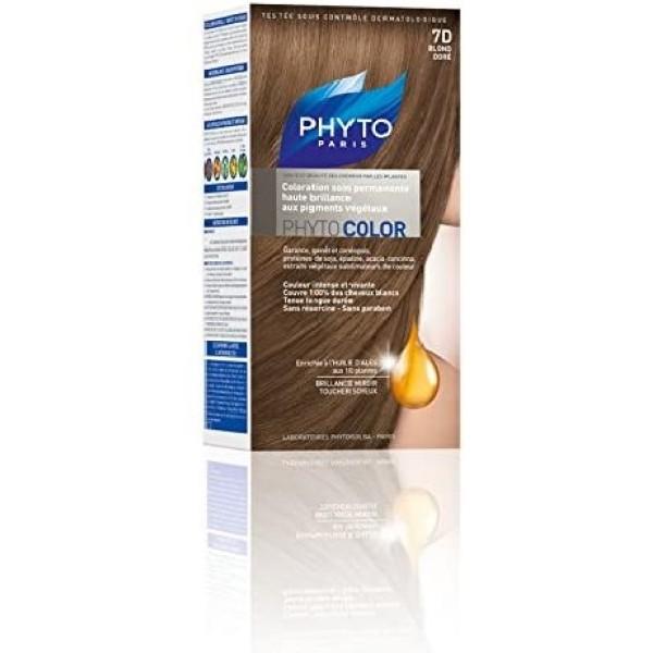 Phytocolor  7D Biondo Dorato - Tintura Permanete per Capelli