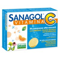 Sanagol C 20 Compresse Effervescenti - Integratore Vitamina C