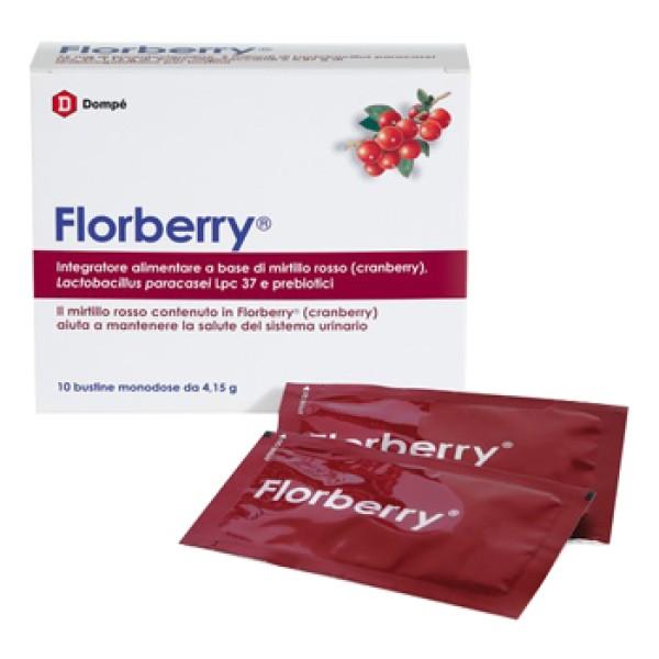 Florberry Integratore Alimentare per le Vie Urinarie 10 Bustine