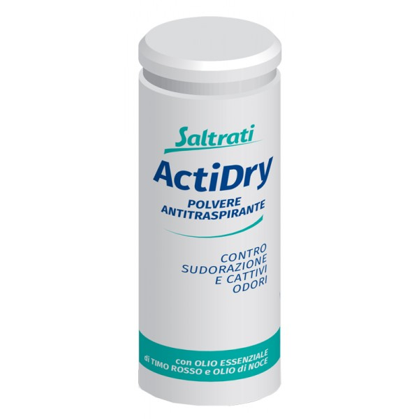 Saltrati Actidry Polvere Antitraspirante Piedi 75 grammi
