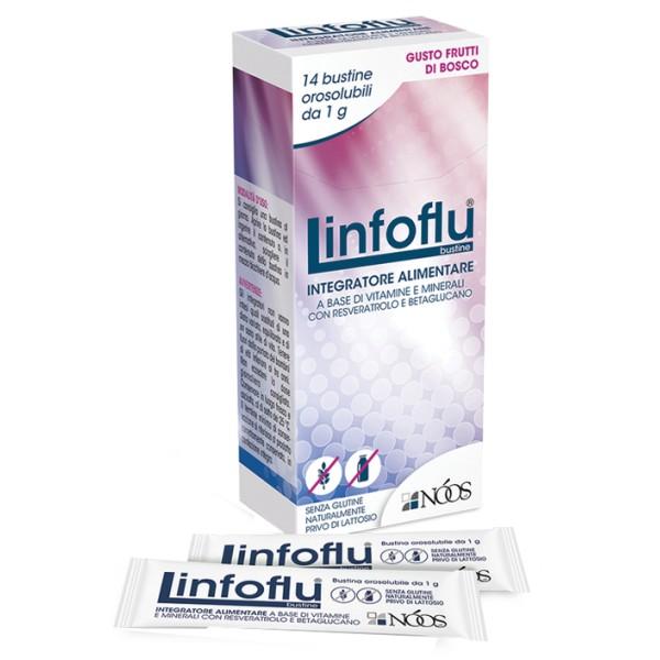 Linfoflu 14 Bustine Orosolubili - Integratore Immunostimolante