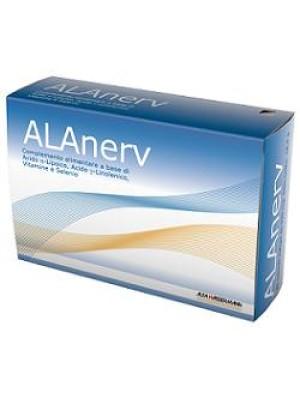 Alanerv Integratore Antiossidante 920 mg 20 Capsule