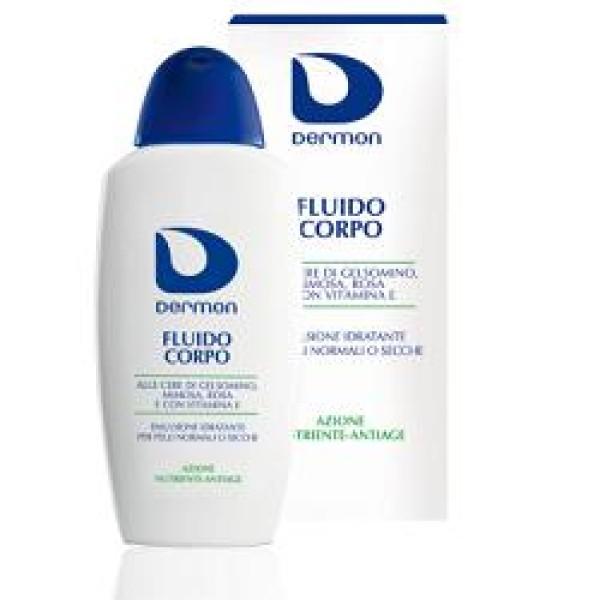 Dermon Fluido Corpo Idratante Pelle Secca 200 ml