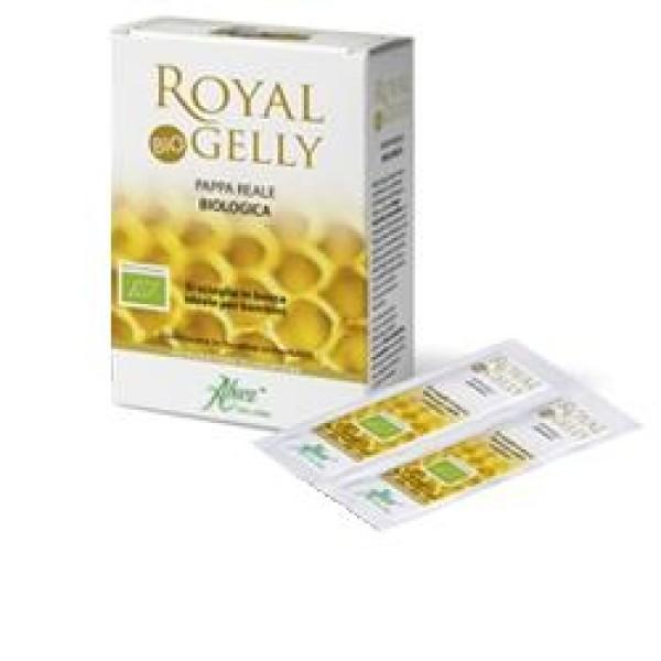 Aboca Royal Gelly 16 Bustine Orosolubili - Integratore Pappa Reale