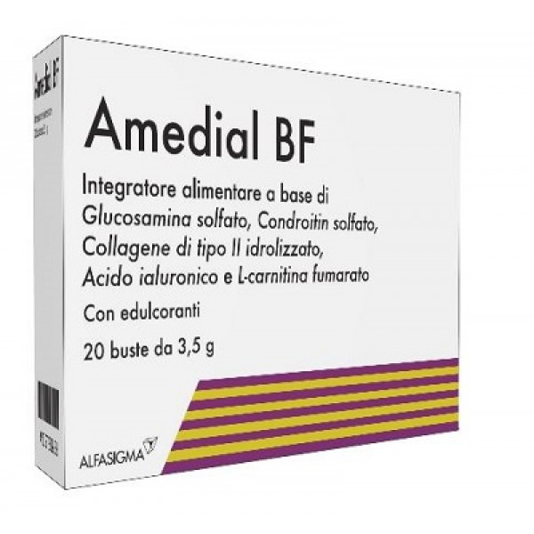 Amedial BF Integratore Cartilagine 20 Bustine