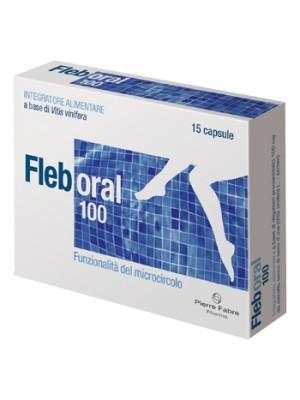 Fleboral 100 mg 15 Capsule - Integratore Microcircolo
