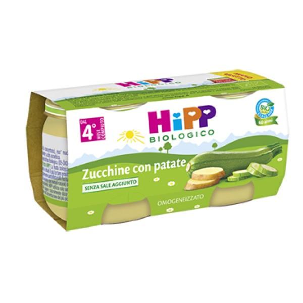 Hipp Bio Omogeneizzato Zucchine con Patate 2 x 80 grammi