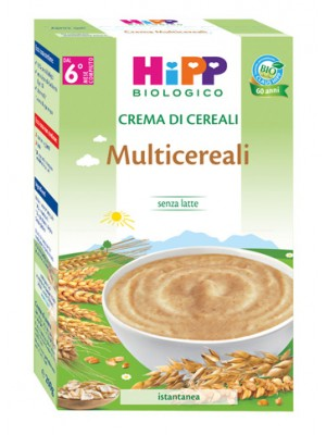 Hipp Bio Crema di Multicereali Istantanea 200 grammi