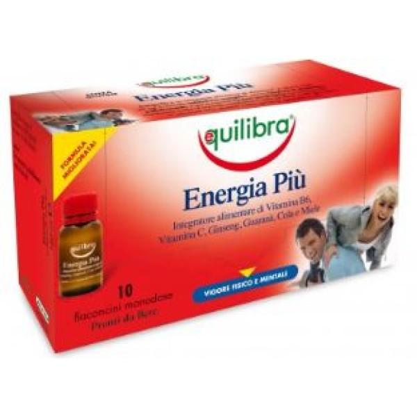 Equilibra Energia Piu' 10 Flaconcini - Integratore Metabolismo Energetico