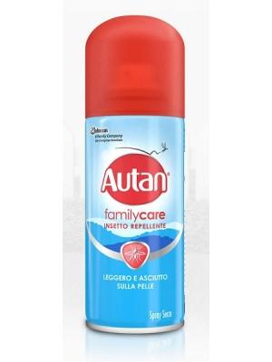 Autan Family Care Spray Secco Repellente Insetti 100 ml